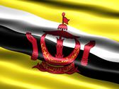 Stock Illustration of flag of brunei