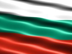 flag of bulgaria - stock illustration