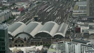 Stock Video Footage of Frankfurt Central Station