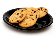 Stock Photo of chocolate cip cookies