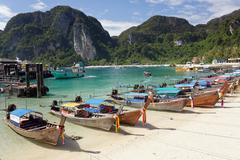 Ko phi phi island Stock Photos