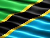 Stock Illustration of flag of tanzania