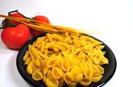 Stock Photo of dried pasta