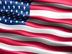 Flag of the usa Stock Illustration