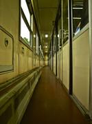 Train Corridor Stock Photos