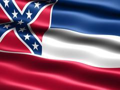 Lipun Mississippin valtiosta Piirros