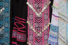 hmong tribe clothes - stock photo