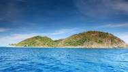 Island in the Ocean Stock Footage
