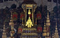 Emerald buddha statue Stock Photos