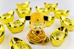 fortune god - stock photo