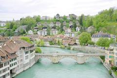 Bern, switzerland, world heritage site by unesco Stock Photos