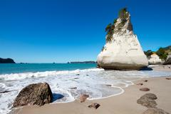 Cathedral Cove - stock photo