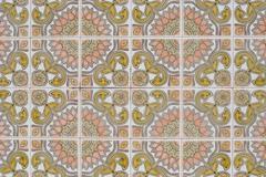 Stock Photo of portuguese glazed tiles 185