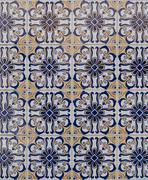 Portuguese glazed tiles 194 Stock Photos