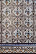 Stock Photo of portuguese glazed tiles 195