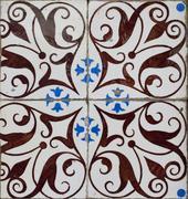 Portuguese glazed tiles 199 Stock Photos