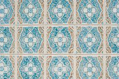 portuguese glazed tiles 232 - stock photo