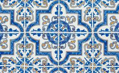 Portuguese glazed tiles 233 Stock Photos