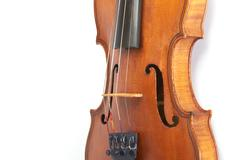 Violin background Stock Photos