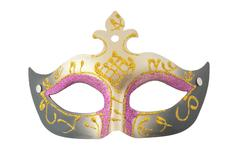 elegant carnival mask - stock photo