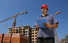Stock Photo of Construction engineer