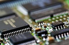 Microchips Stock Photos