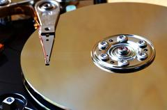 Computer harddisk Stock Photos