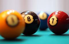 Billiard Pool - stock photo