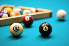 Stock Photo of Billiard Pool