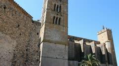 Castello de Empuries Stock Footage