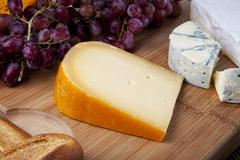 Fresh cheese Stock Photos