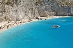 Porto Katsiki beach - stock photo