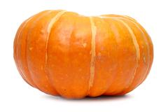 Single fresh pumpkin Stock Photos