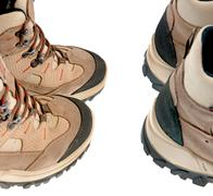 Stock Photo of hiking boots