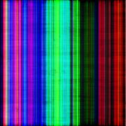 Rainbow color stripes Stock Illustration