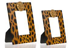 two photo frames - stock photo
