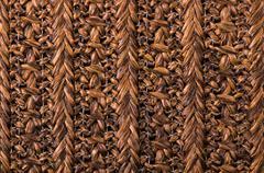 Stock Photo of wicker pattern background
