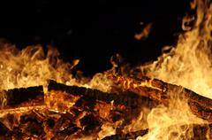 Bon fire Stock Photos