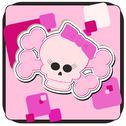 Stock Illustration of Girly Skull & Crossbones Illustration
