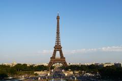 Stock Photo of eiffel tower in paris
