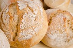 Stock Photo of bread closeup