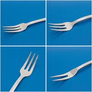 set of forks - stock photo