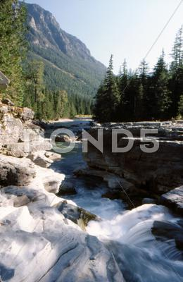 Stock photo of Glacier national park