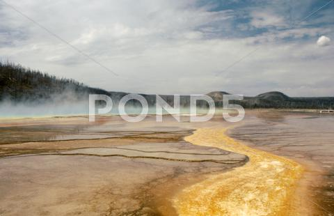 Stock photo of Yellowstone