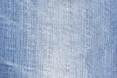 Stock Photo of blue denim