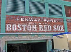 Stock Photo of boston - apr 20: fenway park on april 20, 2012 in boston, usa