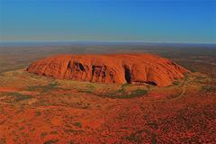 Red Mountain in Australia - stock photo