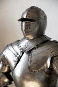 knight's armor - stock photo