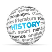 history - stock illustration