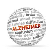 alzheimer - stock illustration